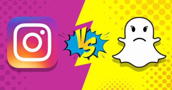 réseaux sociaux, Snapchat, Instagram