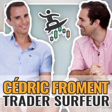 Cédric Froment : trader et surfeur à l'Île Maurice !